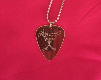 Pearl Jam Stickman Necklace
