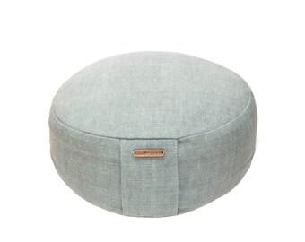 Lavender filled meditation cushion, meditation cushion, organic meditation cushion, zafu, yoga zafu, yoga cushion, yoga pillow