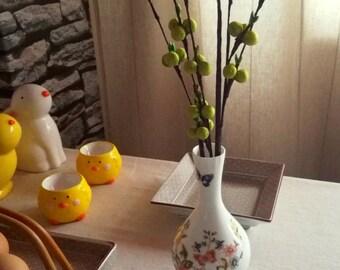 Aynsley Fine Bone China Vase ''Cottage Garden'', Made in England