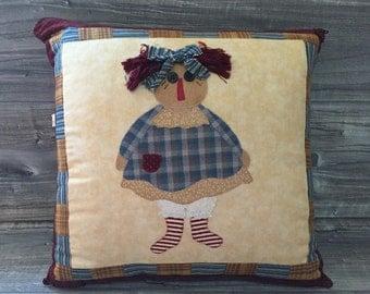 Pillow Raggedy Ann