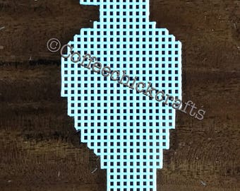 Plastic Canvas Eagle Out Plastic Canvas for Needlepoint Eagle Shape