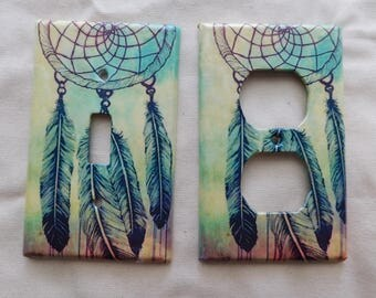 Dream Catcher Switch Plates