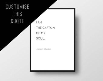 Book Quote, Custom, Personal, Personalised Quote, Custom Book Quote, Minimal Design,, Personalized Print, Custom Design, Minimalistic Art