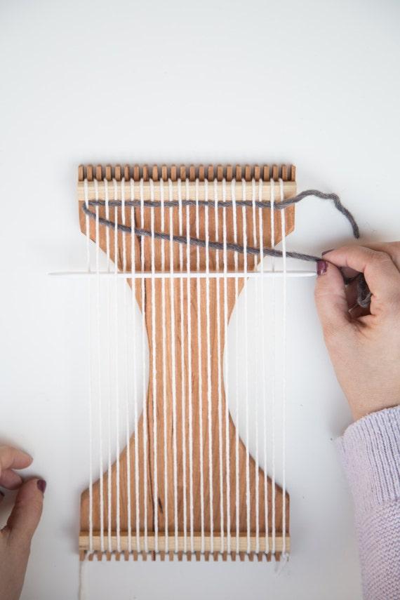 Basket Weaving Kits Beginner : Beginner weaving kit with instructions from kelleecreative