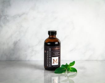 Mouthwash, Mint, Mouth Wash, Mouth Rinse, Natural Mouth Wash, Oral Care, Personal Care, Mint Mouthwash