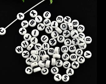 520 letters alphabet beads