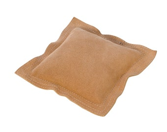 """6"""" Square Leather Sandbag Cushion for Metal Dapping Stamping Hammering Chasing Forming Jewelry Tool - DAP-572.06"""