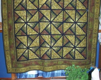 Home made Bedforshire queen quilt