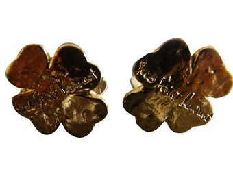 YVES SAINT LAURENT - clips/earrings vintage