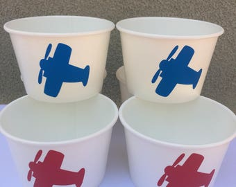 Airplane party Snack Cup