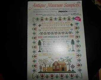 Paragon Antique Museum Samplers Cross Stitch Patterns