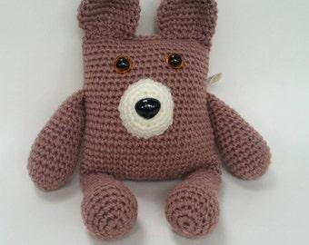 Teddy Bear Crochet Bear Soft toy Child toy Softie