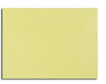 20 Pastel Yellow Envelopes in A7, A6, A2 & A1 Sizes