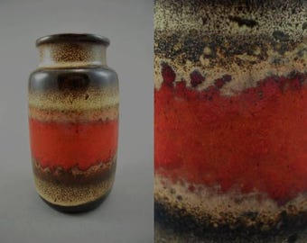 Vintage vase made by Scheurich / 231 15 | West German Pottery | 60s