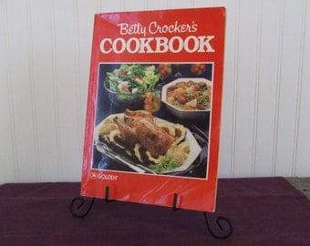 Betty Crocker's Cookbook, Vintage Cookbook, 1989