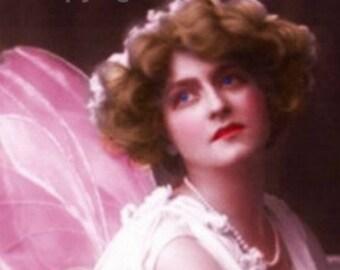 Fairy Angel Etsy Banner Cover Vintage Icon DIY  Blank Shop Store  Avatar Set  Instant Digital Download