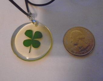 Saint Patricks Day pendant necklace on 18 inch  necklace