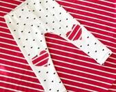 Valentine Heart Knee Leggings for Babies/Toddlers/Kids by Wee Kings