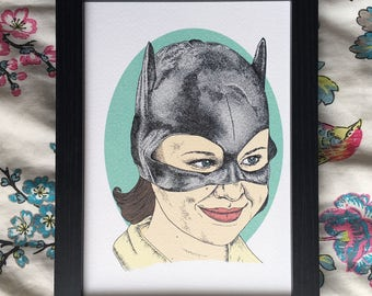 Ghost World Movie Illustration Art Print