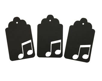 Music Note 3 Gift Tags