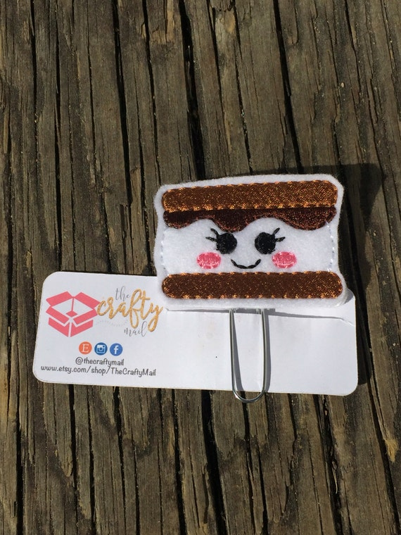 S'mores Clip/Planner Clip/Bookmark.