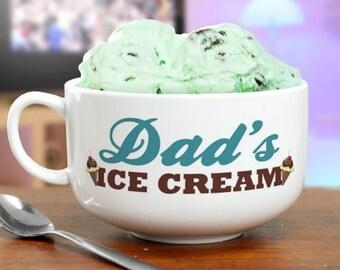 Personalized Ice Cream Bowl-Ice Cream Bowl-Custom Ice Cream Bowl