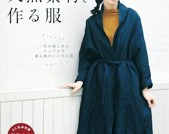 Clothes made from natural materials - Japanese craft