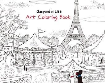 Gaspard Et Risa Art Coloring Book