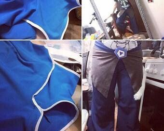 Korra cosplay costume