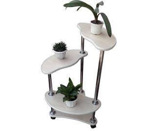 """Modern stylish plant stand """"Amsterdam"""". Free shipping."""