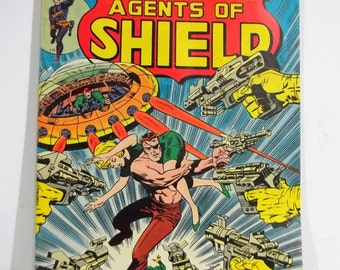 Nick Fury and His Agents of Shield, Issue #4; Bronze Age Marvel Comic Book