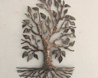 Metal Tree - Home Decor - Wall Hanging - Metal Art