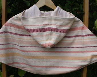 Handwoven Hooded Child's Cape size 6