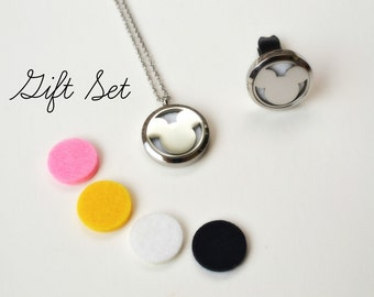 Mickey Mouse, Car Diffuser, Stainless Steel Car Diffuser, Diffuser Necklace, Gift Set, Kids, Aromatherapy, Essential Oils, Stainless Steel