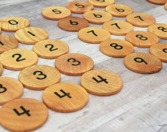 Montessori Math Game, Educational Toy, Wooden Math Game, Educational Game, Math Game, Learning Game, Montessori Toy, Wooden Toy