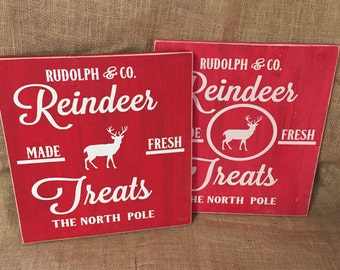 Reindeer Treats 11x11