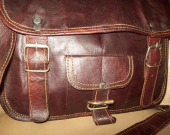 A CARPE DIEM ladies hand made leather handbag