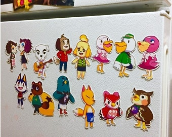 Animal Crossing New Leaf Magnets