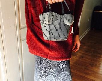 Vintage Paris Petite Bustier Handbag