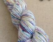 Silky Singles Merino/Silk (70/30) 4ply Yarn - OOAK - Speckle Dyed