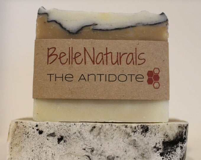 Featured listing image: The Antidote - jewelweed kills poison ivy oil in this soap for hikers, gardeners, and everyone who likes soft skin