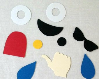 Emoji Confetti - Die Cuts - Party Supplies - Table Decorations - Emoji party
