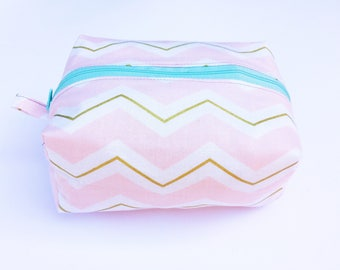 Bridesmaid Gift Bag - Cosmetic Bag - Makeup Bag - Make Up Bag - Gift for Woman - Birthday Gift for Her - Makeup Pouch - Makeup Organizer