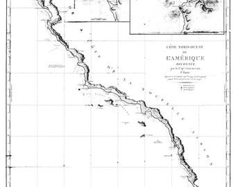 Santa Barbara Map B&W