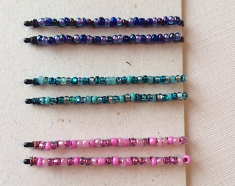 Confetti Beaded Bobby Pins (3 Color Options!)
