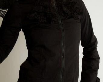 BABETH BLACK JACKET Long sleeves