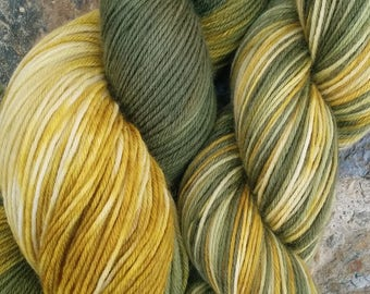 Gemstones MCN, That 70s Show, hand dyed yarn