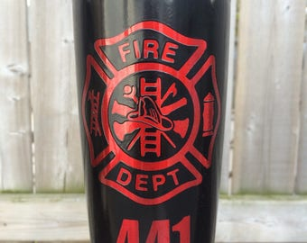 Firefighter tumblers
