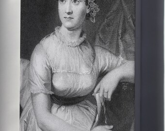 Canvas 16x24; Jane Austen P1 Pride And Prejudice, Sense And Sensibility, Emma, Mansfield Park Persuasion, Northanger Abbey