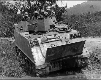 16x24 Poster; M113 Armored Personnel Carrier Vietnam 1966